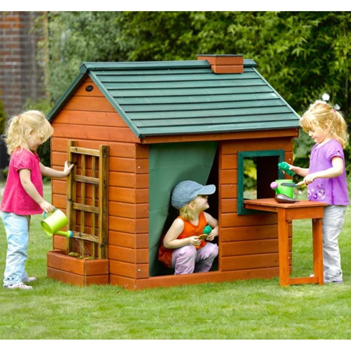 Домик из дерева для детей своими рука